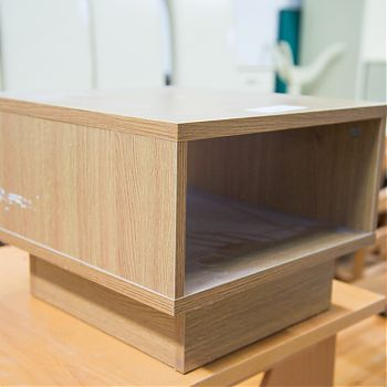 Pine small coffee table