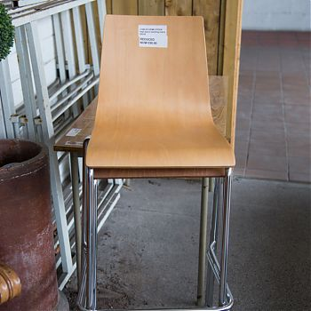 Image High beech stacking chair €50