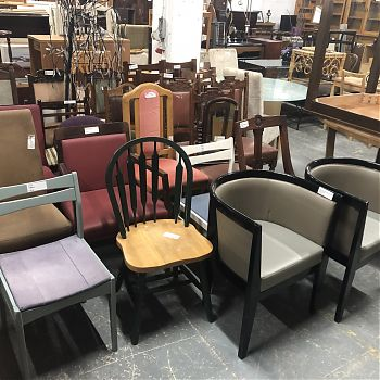 SELECTION OF CHAIRS TO CLEAR