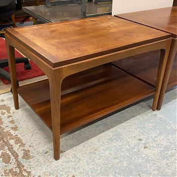 RETRO TEAK STAINED COFFEE TABLE
