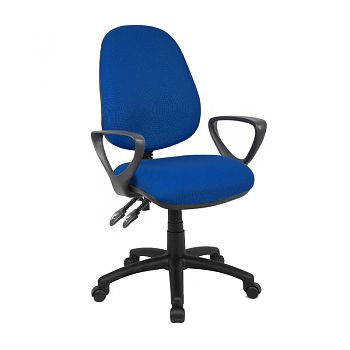 VANTAGE 1 OR 2 LEVER SWIVEL CHAIR (FIXED LOOP ARMS)