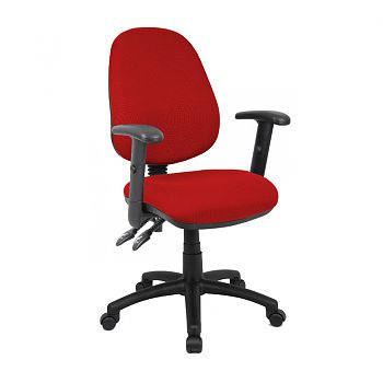 VANTAGE 1 OR 2 LEVER SWIVEL CHAIR (HEIGHT ADJ ARMS)