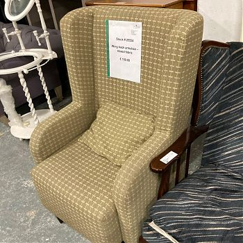 # 25554 - WING BACK ARMCHAIR